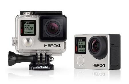 Exemplo de câmera GoPro