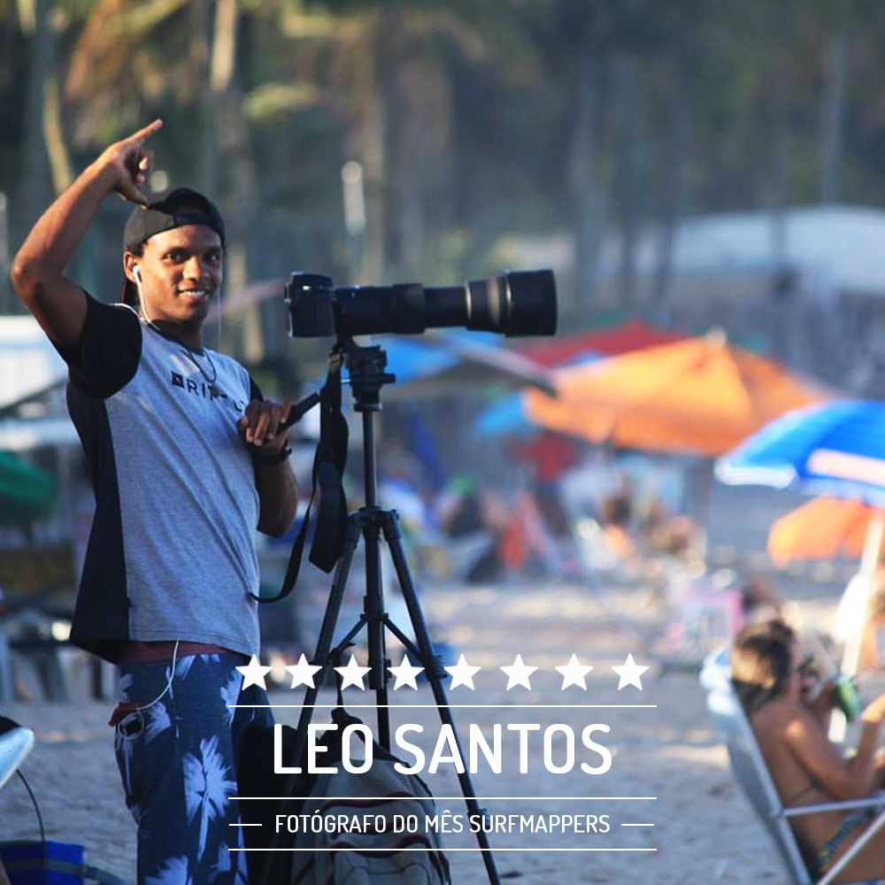 Leo Santos, vencedor do Fotógrafo do Mês de Fevereiro no Surfmappers.
