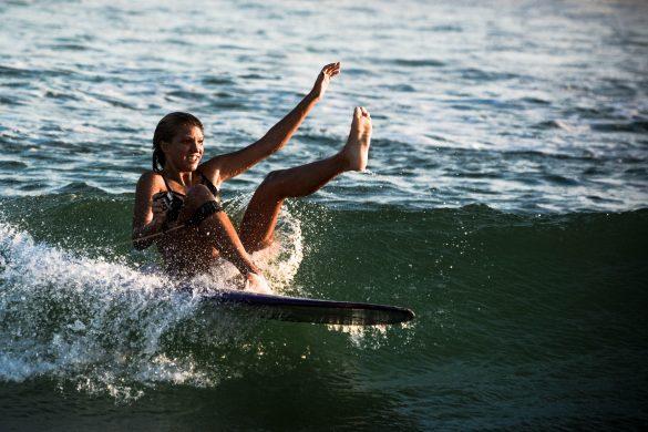 Longboard na Macumba pelas lentes do Bruno Rafael
