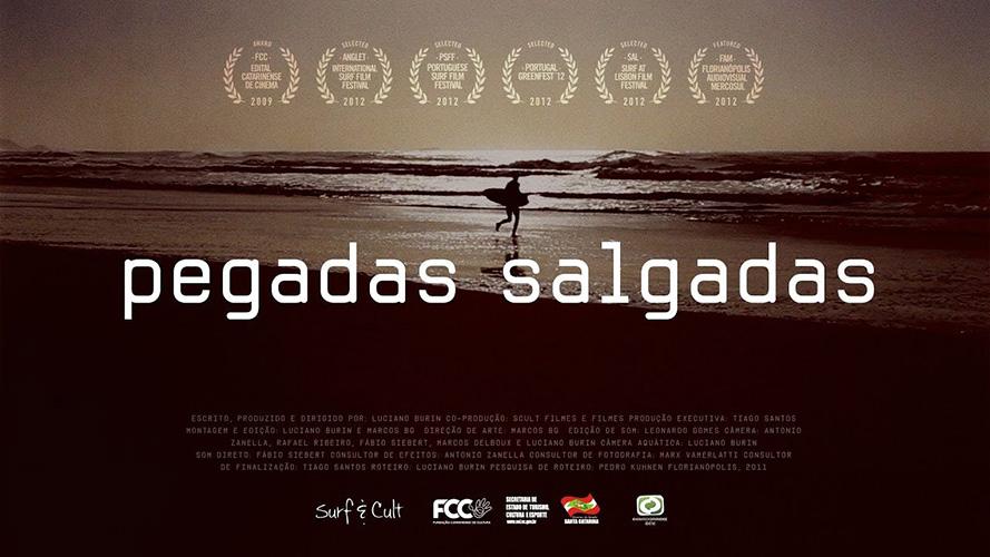 Filmes de Surf. Pegadas Salgadas