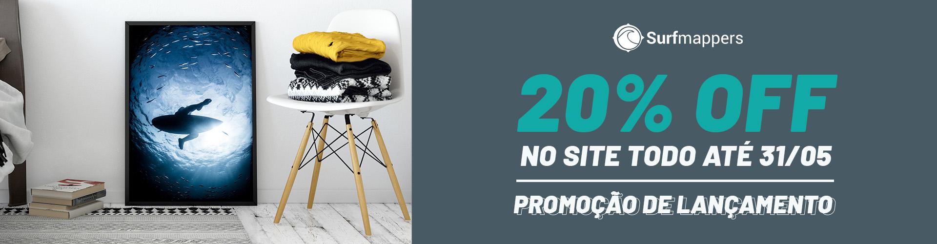 Quadros de Surf - banner promocional