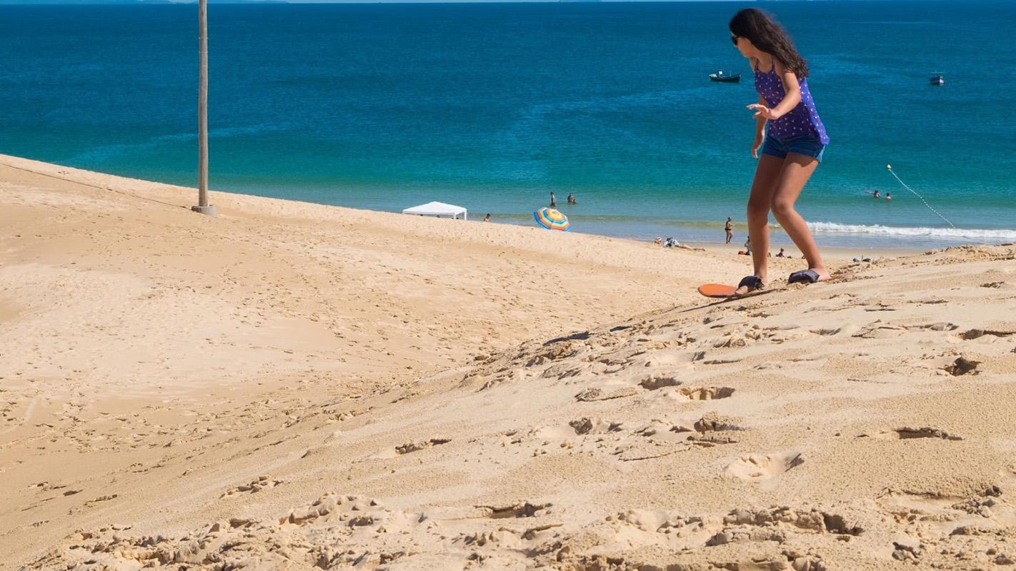 surf na praia da joaquina