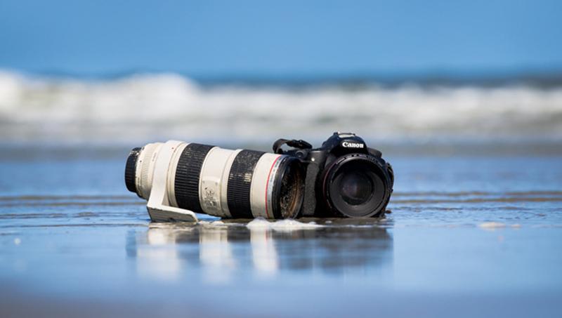 seguro de câmera fotográfica